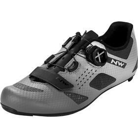 Northwave Storm Carbon Shoes Men anthracite/silver reflective